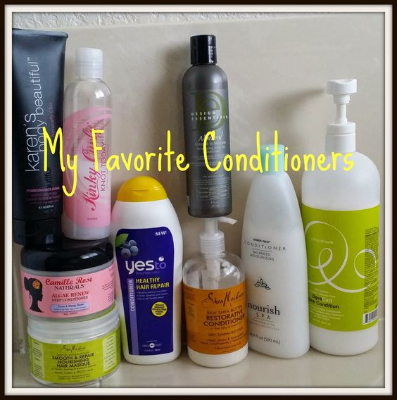 CRYSTAL'S CURLS: My Favorite Conditioners