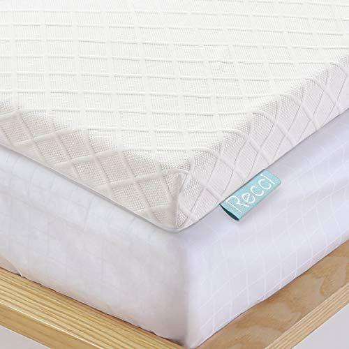 Recci 3in Memory Foam Mattress Topper Full Pressure Reli Https