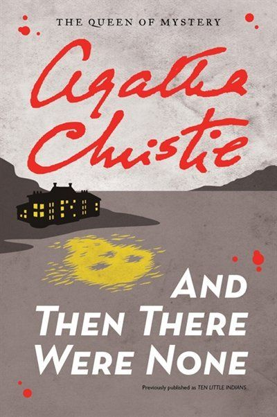 """Agatha Christie, Queen of Crime! """"And Then There Were None"""" is a fast moving read that is sure to draw in readers."""