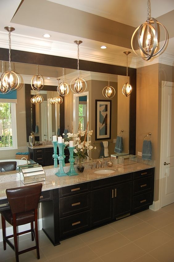 Pinterest the world s catalog of ideas for Master bathroom vanity single sink