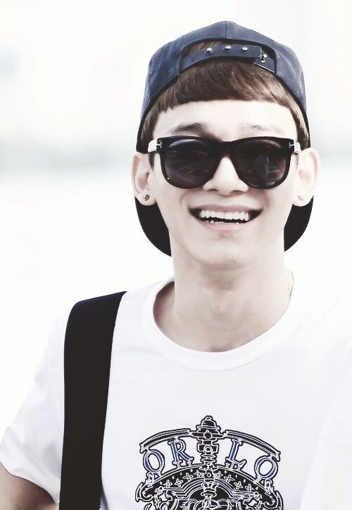 Chen ♥ Glass On ♥ #EXO