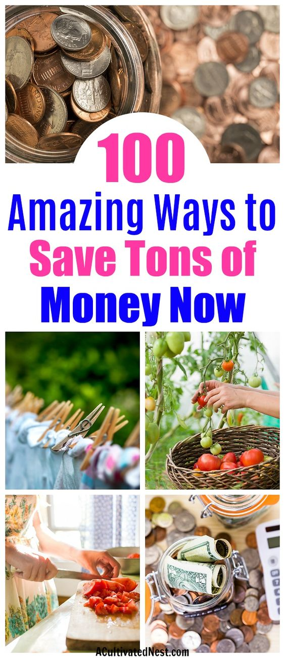 100 Tips to Help You Live Within Your Means- Frugal living isn't difficult, if you know the right tips. To help you start living frugally, check out my 100 tips to help you live within your means! They're a lot easier to implement than you'd think, and can save you a lot of money! | frugality, ways to save money, reduce your expenses, get out of debt, #frugalLiving #saveMoney #moneySavingTips #debtFree