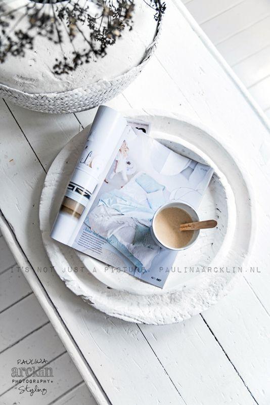© Paulina Arcklin | Blog post: White painted wood