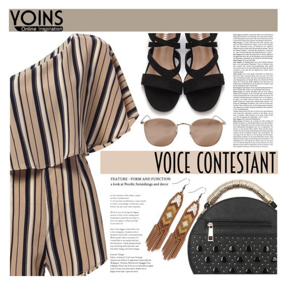 """""""Yoins~~ No10 ♥"""" by av-anul ❤ liked on Polyvore featuring Linda Farrow and Fiona Paxton"""