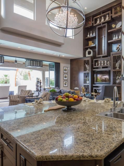 Home l 39 wren scott and the property on pinterest - Small space kitchen island property ...