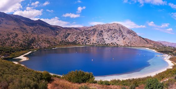 Lake Kournas, Argiroupolis and Ancient Lappa
