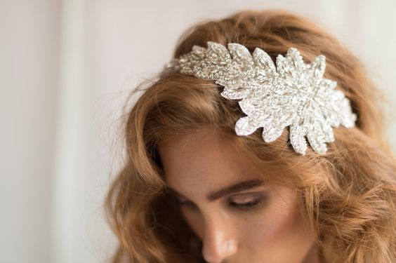 HEATHER HEADBAND- SILVER
