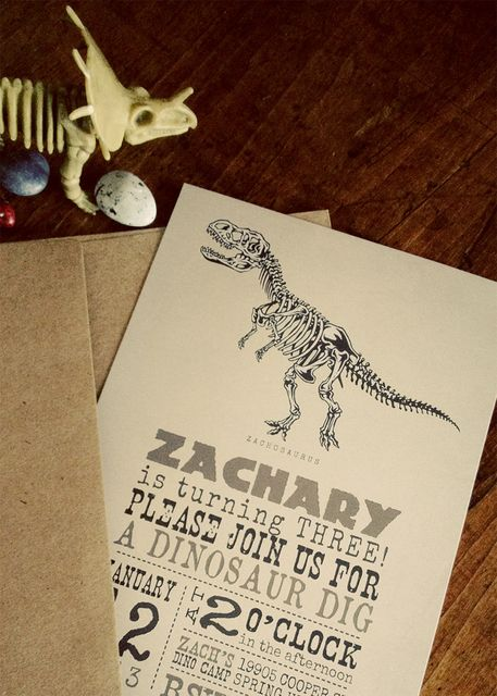 """Photo 38 of 38: Fossils, Dinosaurs / Birthday """"Fossil Hunter Party""""   Catch My Party"""