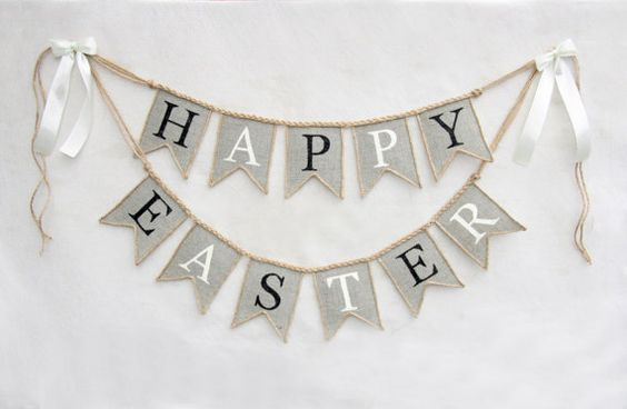 Hey, I found this really awesome Etsy listing at https://www.etsy.com/listing/222692037/happy-easter-banner-burlap-happy-easter: