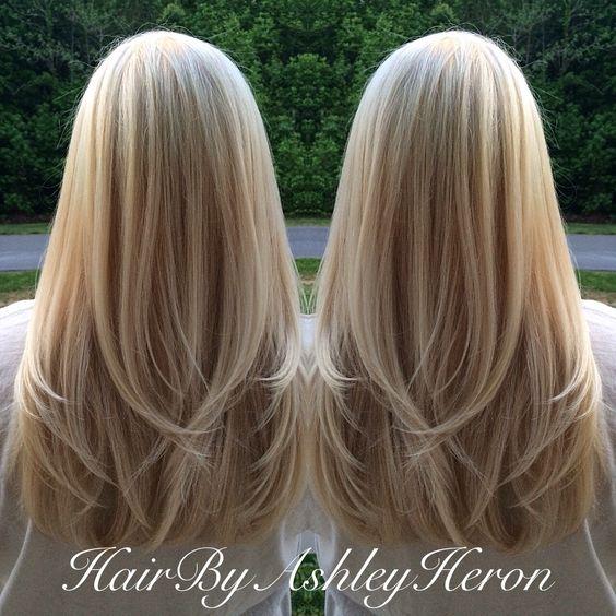 Long Layered Blonde Hair 85