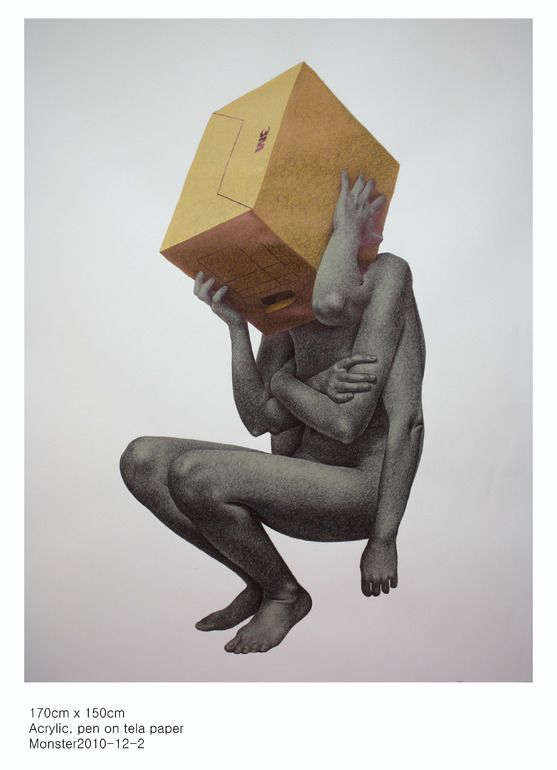 "Saatchi Online Artist: seungyea park; Mixed Media ""2010-12-1"""