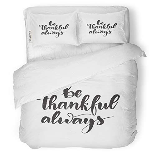 Sanchic Duvet Cover Set Motivational And Inspirational Quote Be