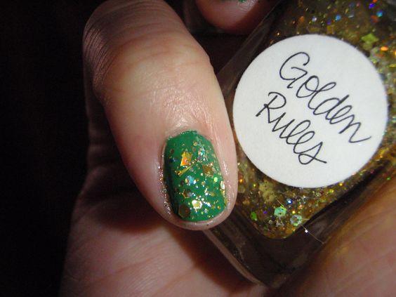Golden Rules over CND Green Scene #546