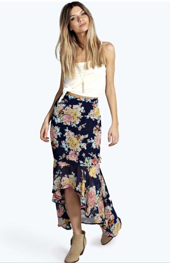 I'm loving this skirt from boohoo I want it #boohoo #summer #fashion #skirt