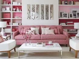 Love the Pink Living Room