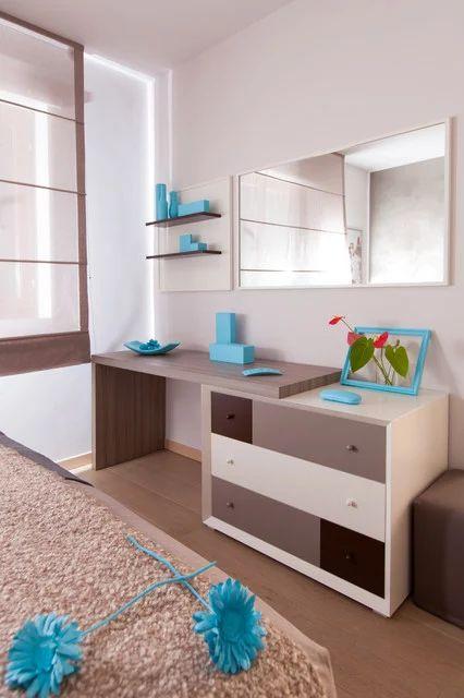 Camera da letto arredata su misura dalla falegnameria #Semprelegno ...