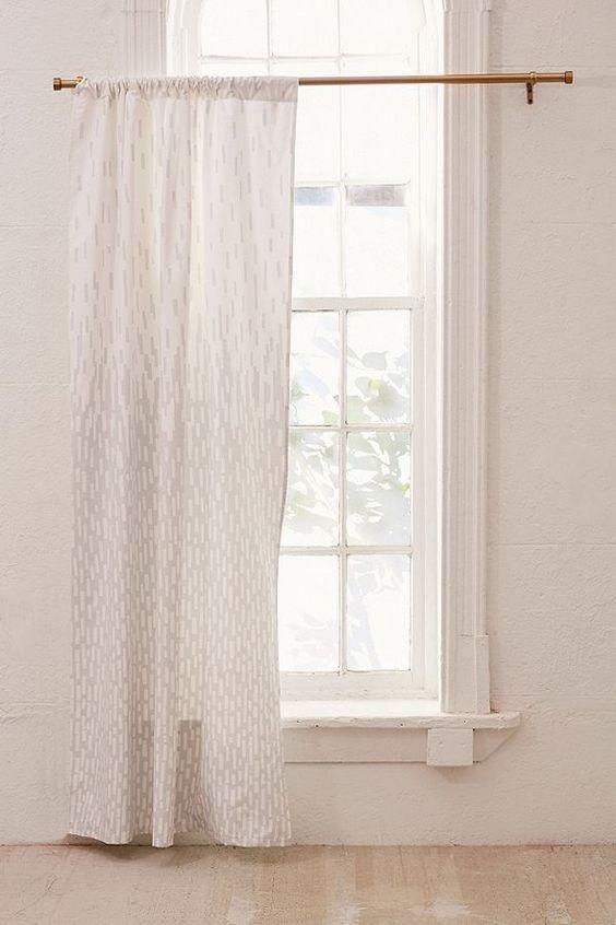 Fashionable Urban Modern Windows Curtains