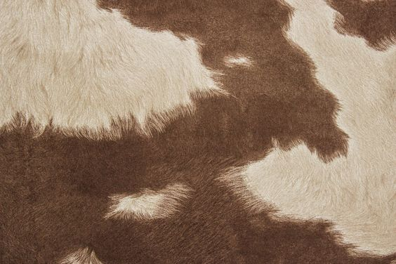 Suede Cowhide Fabric Brown White The Fabric Mill Home