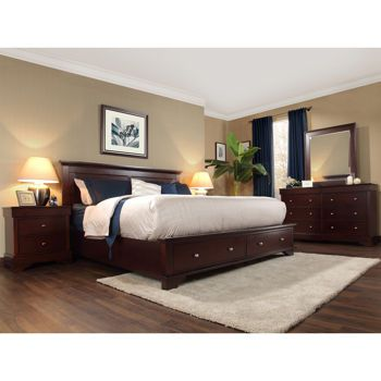 Costco hudson 5 piece queen bedroom set home decor for Master bedroom sets queen
