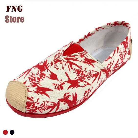 Chinese bloemenprint canvas schoenen voor vrouwen loafers merk fashion espadrilles flats vrouwen zomer sneaker tijd sport schoen in Van harte welkom om fng winkel!Wij bieden mode, nieuwe en goedeDe kwaliteit van producten.We zullen ons best doen  van vrouwen flats op AliExpress.com   Alibaba Groep