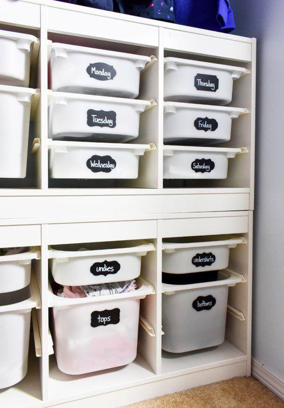 65 Genius Closet Organizing Ideas Kids Closet Storage Kids Bedroom Organization Kids Closet Organization