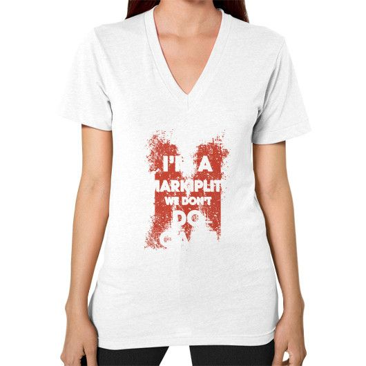 IM A markiplite V-Neck (on woman)