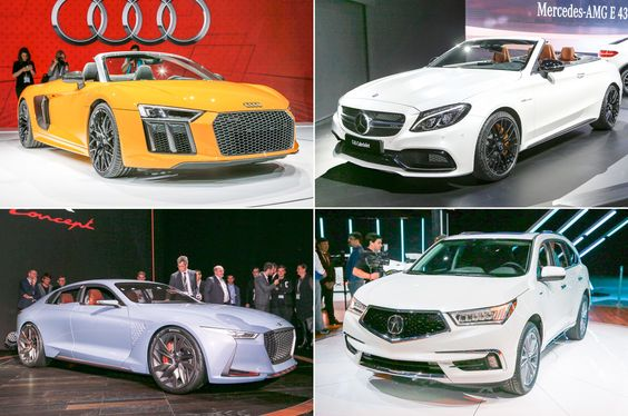 Luxury Cars of the New York Auto Show