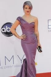 Kelly Osbourne was treated to the black diamond manicure at this year's Emmy Awards