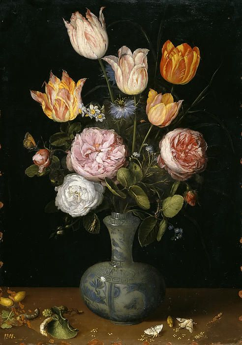 Floral Still Life by Jan Brueghel The Elder