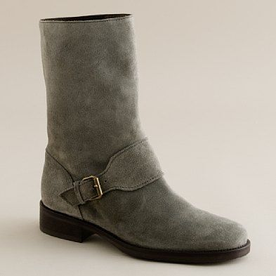 j crew suede boots