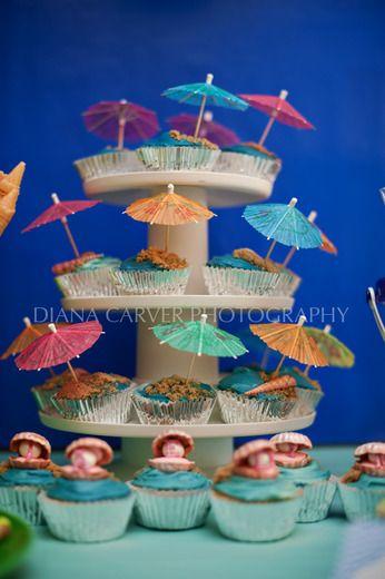 Mermaid, Ocean Birthday Party Ideas | Photo 7 of 19 | Catch My Party
