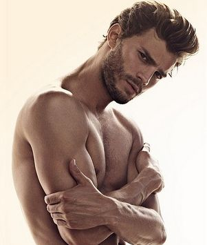 Jamie Dorman-New Christian Grey- This...is right :)