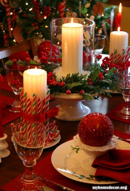 Candles Candy Canes And Canes On Pinterest