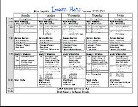Lesson plan sample first grade