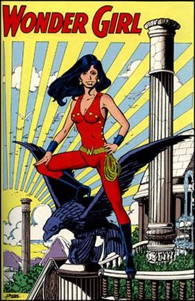 Debra Girl Winger Wonder Teen Titans | Wonder Woman Part 11: Donna Troy as Wonder Girl – by Jason Wright ...