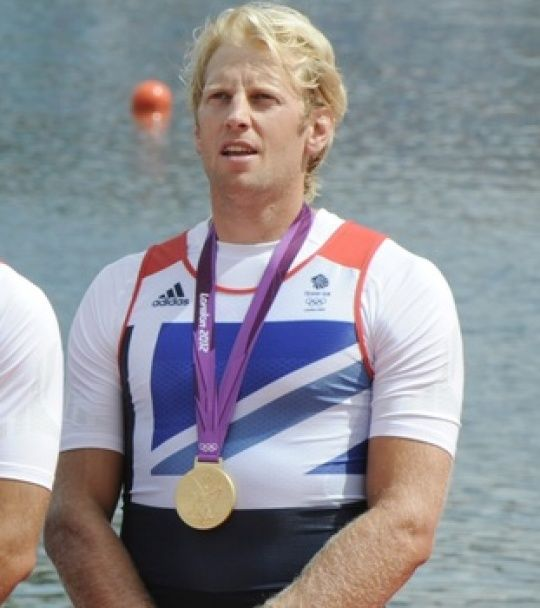 Andrew Triggs Hodge. Olympic Gold Medal Winner. (Rowing) 2012.