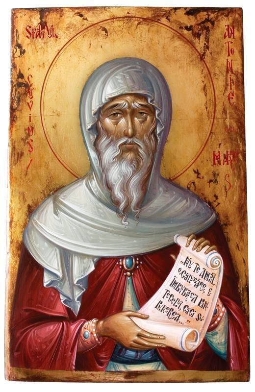Αποτέλεσμα εικόνας για ΕΙΚΟΝΕΣ ΤΟΥ Ο Άγιος Αντώνιος  ο Μέγας