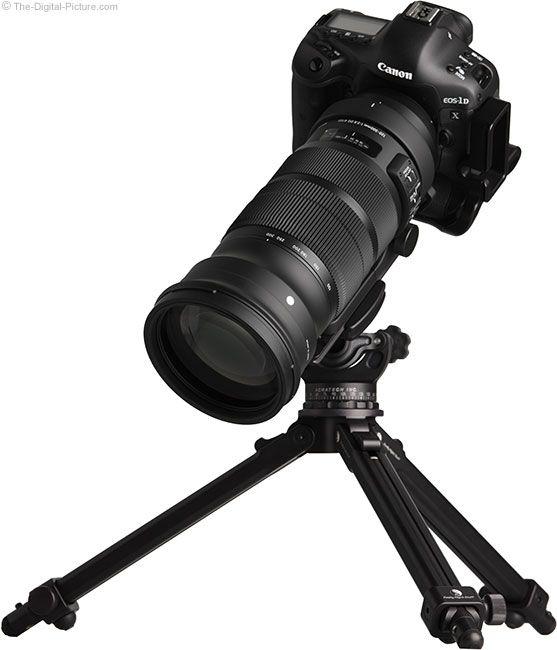 Sigma 120 300mm F 2 8 Dg Os Hsm Sports Lens On Tripod Best Camera Lens Sigma