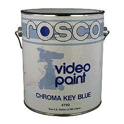 ROSCO Chroma Key Blue Paint 1 gallon