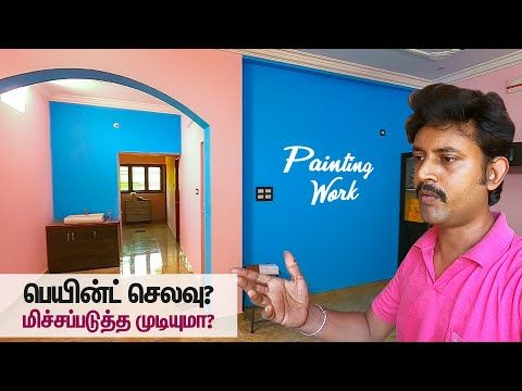 House Painting Work Ideas Home Paint Colours Designs Tips Mano S Try Tamil Vlog Youtube Paint Colors For Home House Painting Paint Colors