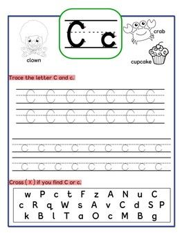 Alphabet Chart And Worksheets A Z Upper And Lower Case Alphabet Worksheets Kindergarten Alphabet Worksheets Letter Recognition Worksheets