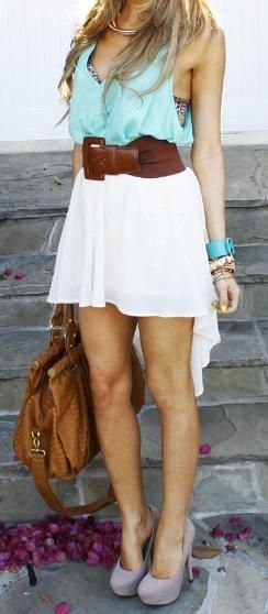 Love this summer outfit!