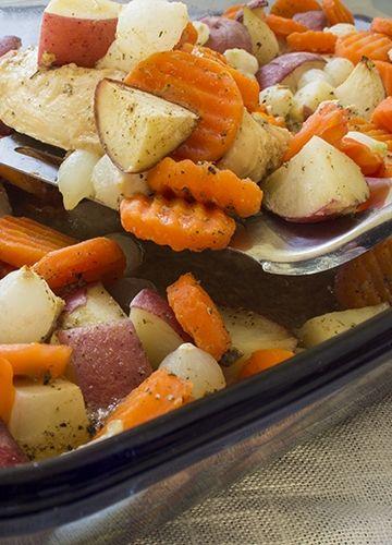Glazed Chicken with Vegetables | Recipe | Vegetables, Glazed chicken ...