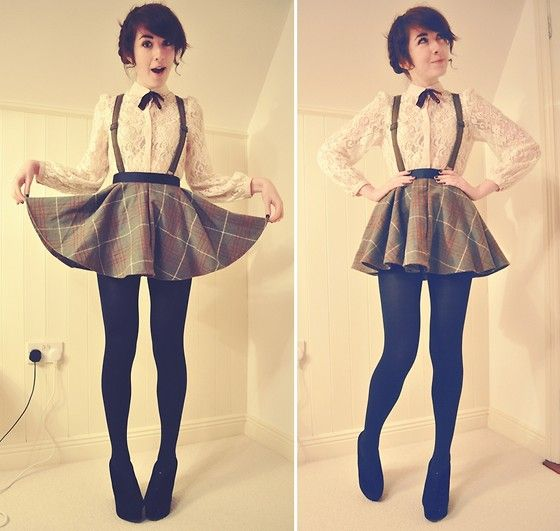 This pinafore skirt is amazingly good! http://lookbook.nu/look/3004059-My-blood-is-singing-with-your-voice-I-want-to-pour-it-out: