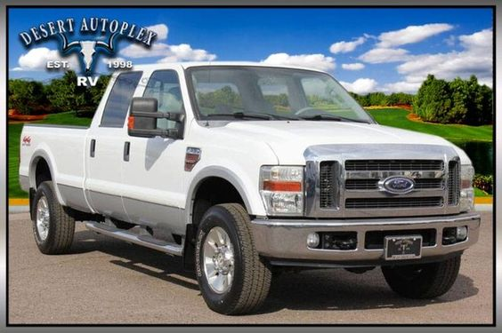 2008 Ford F-350 4X4 Lariat Pickup Truck FOR SALE! (Stock# B80915) Call us today with an offer that works for you! Toll free at 1.888.385.1122 or online at www.Desertautoplex.com #2008 #ford #truck #pickup #pickuptruck #f350 #f-350 #4x4 #lariat #diesel #crew #cab #crewcab #lifted #mesa #az #arizona #phoenix #desertautoplexrv