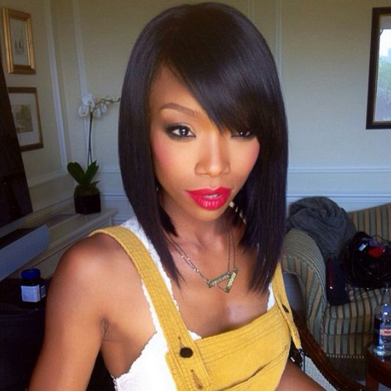 Brandy Hairstyles On The Game brandy #bob # hairstyle #makeup hair