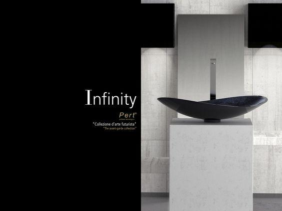 Glass design infinity lavabo de resina lavabos de - Lavabos de resina ...