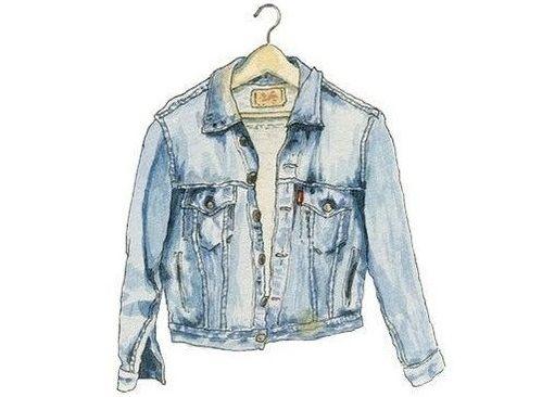 #jeans #jaqueta #desenho