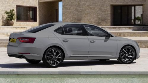 Skoda Superb Sportline Plus Brings The Goodies For Uk Buyers