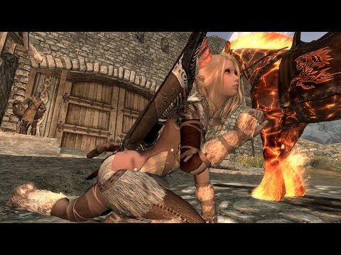 Skyrim Mods of the Week 2 - Sexy High Heels Walk - http://www ...